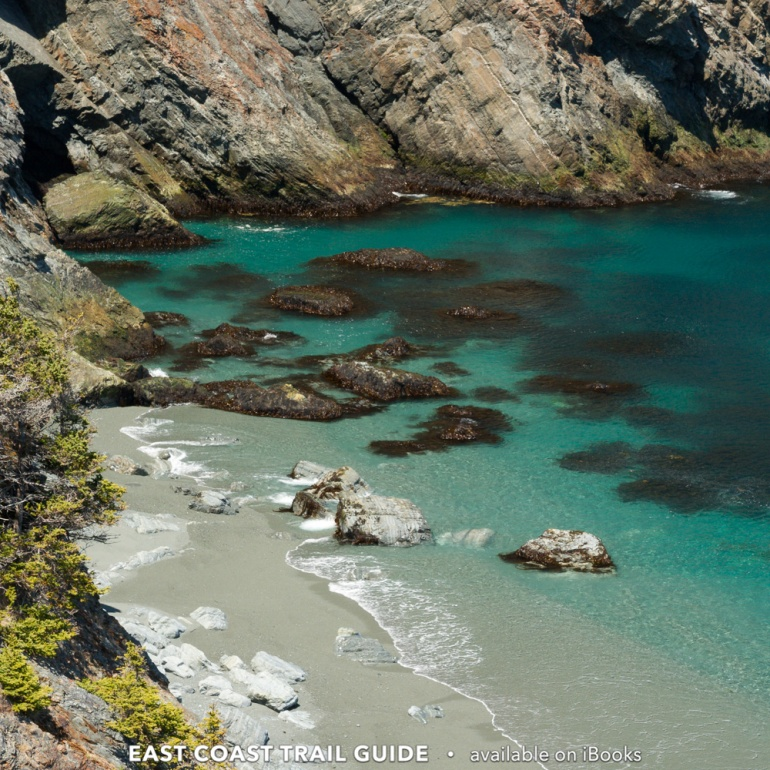 Lance Cove beach from above - Cape Broyle Head Path