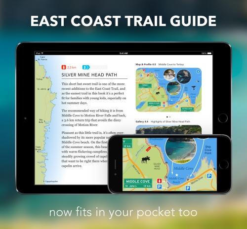 East-Coast-Trail-Guide-on-iPad-and-iPhone-on-Blog
