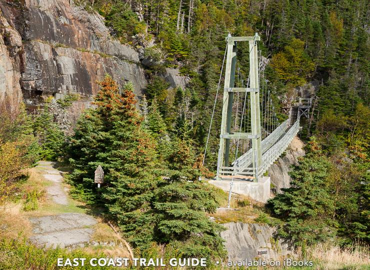 Suspension Bridge - La Manche Village Path