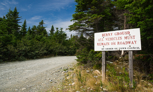Berry Ground sign - on the way to Cape St. Francis