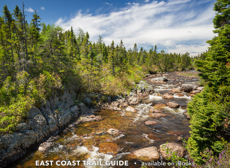 Spout River - Sounding Hills Path