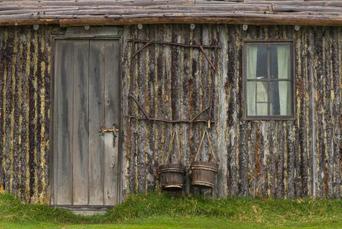 Ned & Mary's house - Random Passage filmset