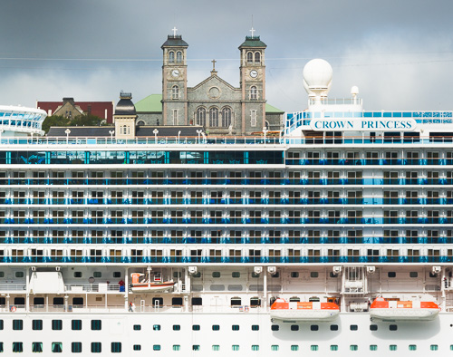 Cruise Ship Cathedral - St. John's