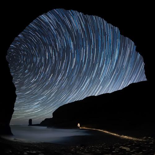 Grebe's Nest Star Trails - Bell Island