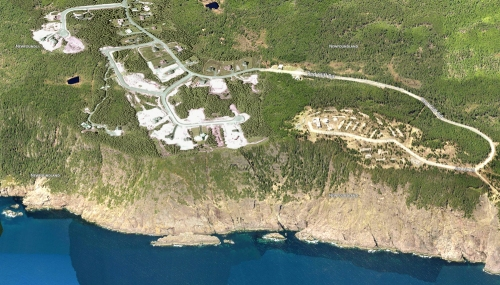 Residential development on Red Cliff - Logy Bay