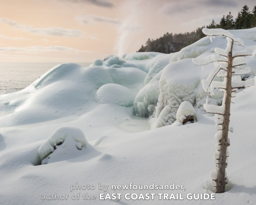Frozen sunrise - Spout Path