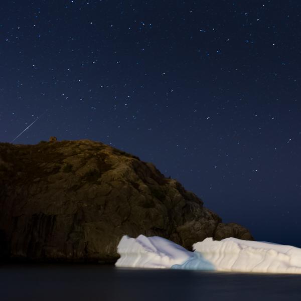 Lyrid meteor - Quidi Vidi