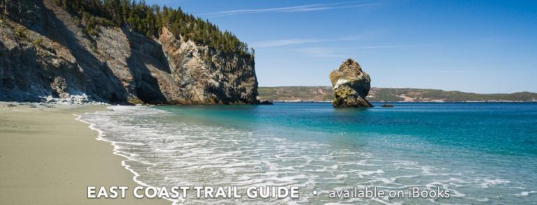 Long Will sea stack, Lance Cove beach - Cape Broyle Head Path