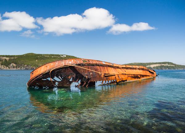Ilex shipwreck - Bear Cove Point Path