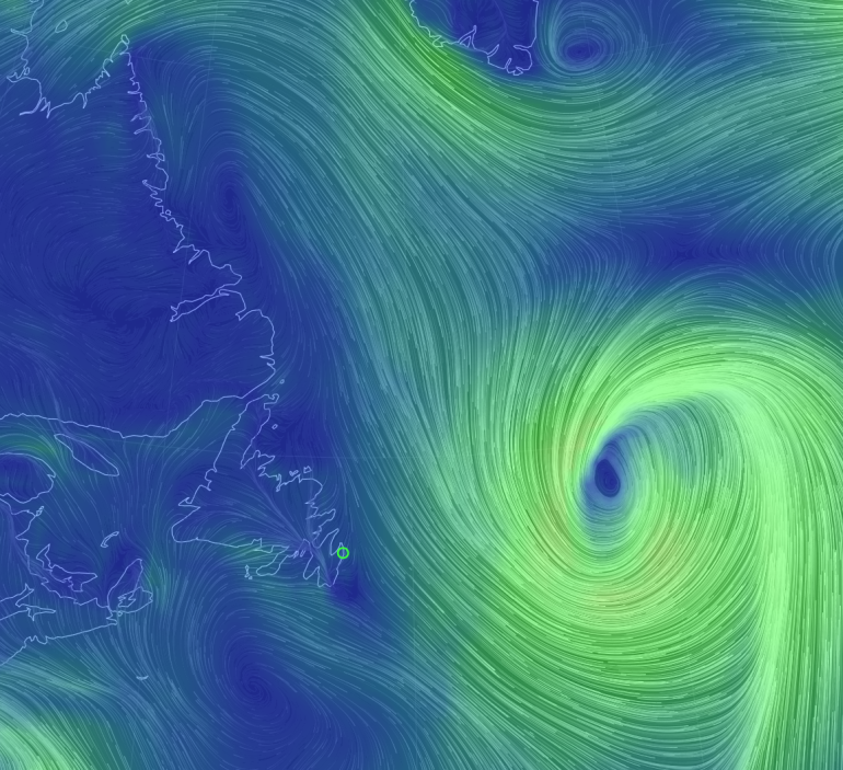 May 2 2016 wind patterns - EarthWindMap
