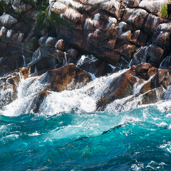 Wave-washed cliffs - Witless Bay Ecological Reserve