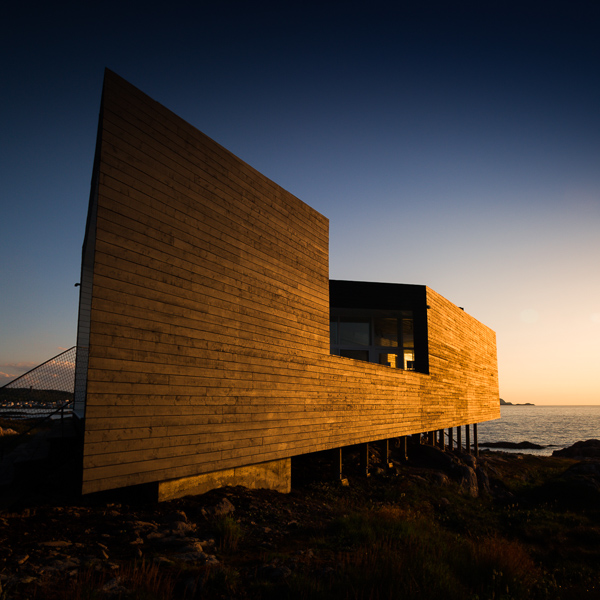 Long Studio sunset - Fogo Island
