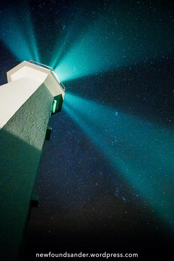 Cape Spear light beams - Cape Spear